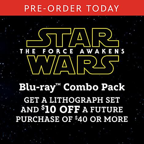 Pre-Order Star Wars The Force Awakens