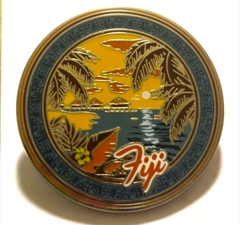Soarin' Around the World Fiji Pin