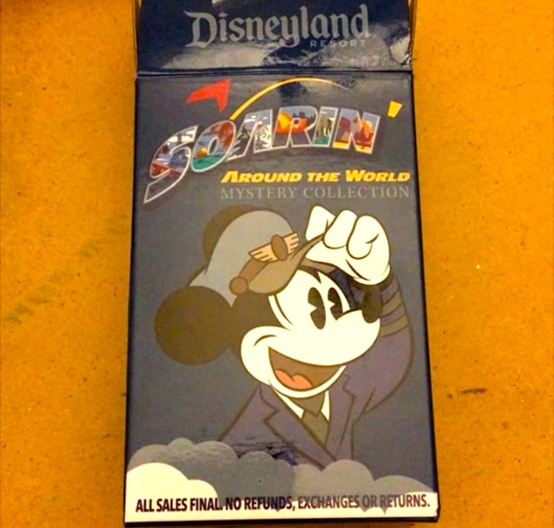 Soarin' Around the World Mystery Pin Collection