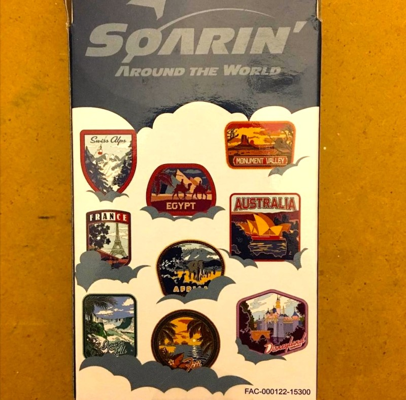 Soarin' Around the World Mystery Pin Collection Box