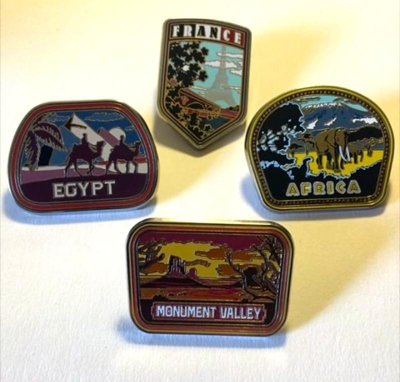 Soarin' Around the World Mystery Pins