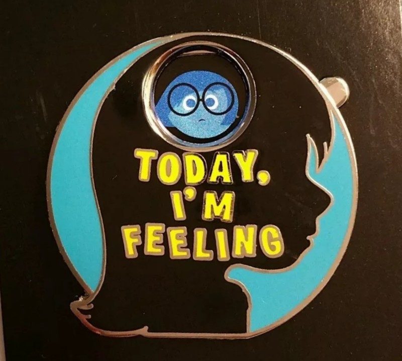 Today I'm Feeling Inside Out Pin