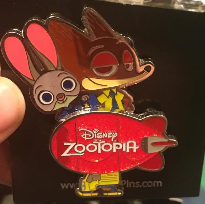Zootopia Pin - Hong Kong Disneyland