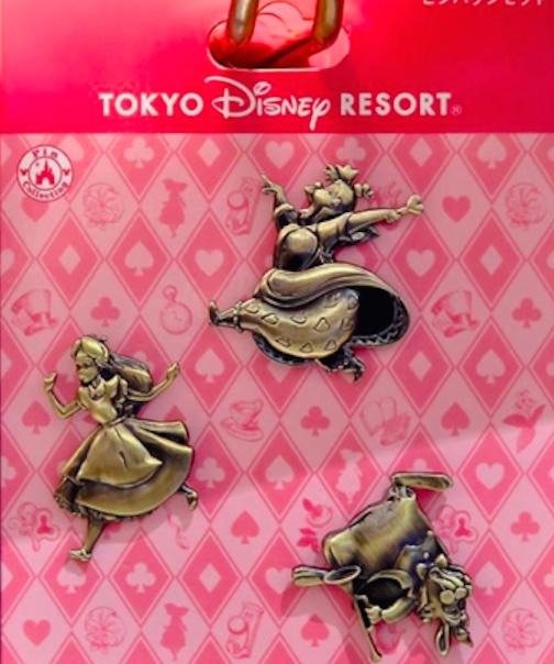 Alice in Wonderland Pin Set - Tokyo Disney Resort