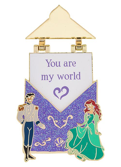 Ariel Love Letter Disney Pin