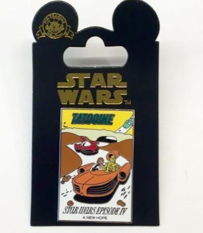 Autopia Star Wars Tatooine Pin
