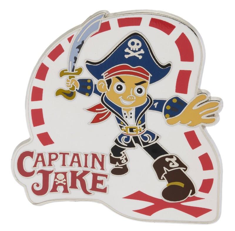 Captain Jake Disney Pin