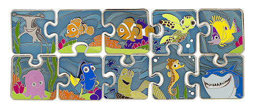 Character Connection Finding Nemo Pins