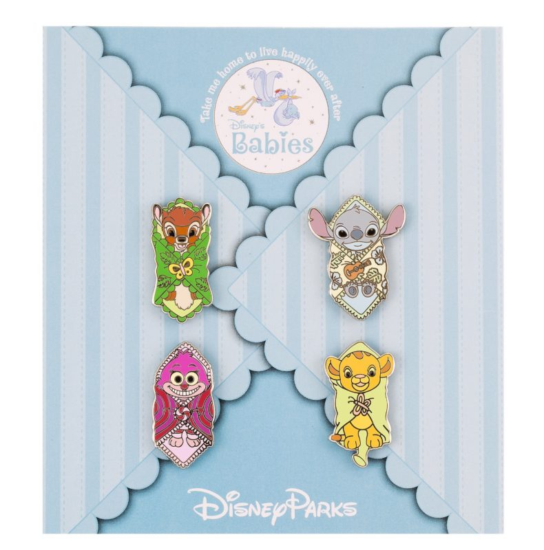 Disney Babies Booster Pin Set