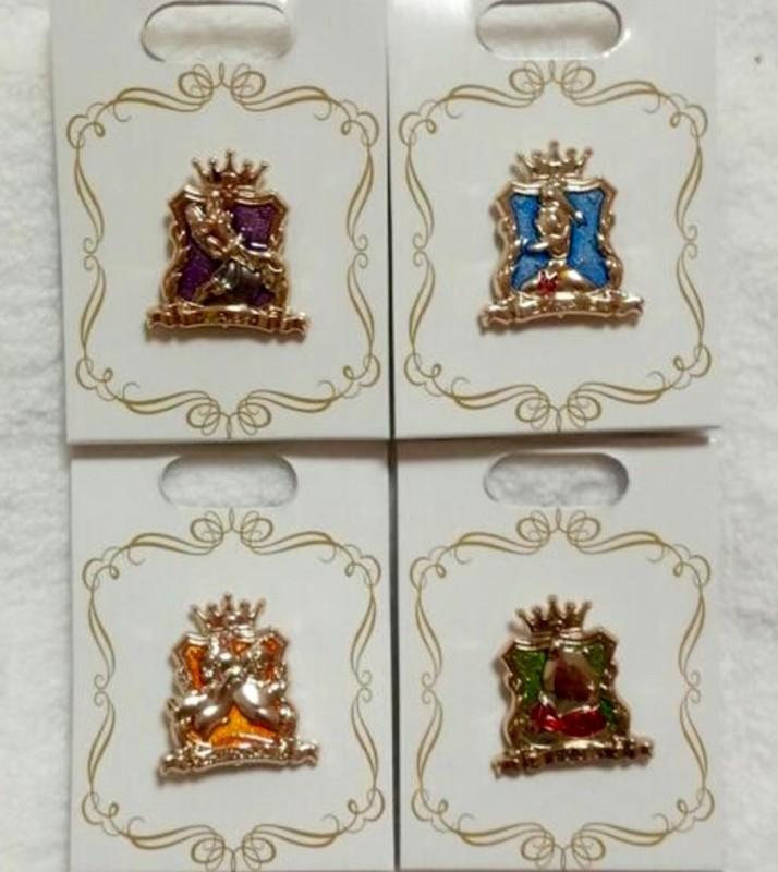 Disney Store Japan Crown Pins