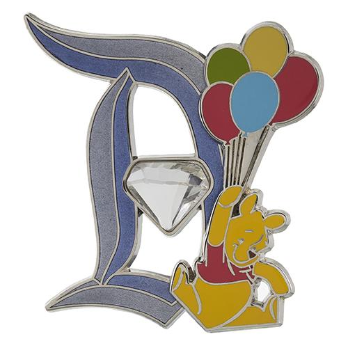 Disneyland 60th Winnie the Pooh Pin
