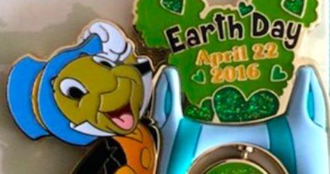 Earth Day 2016 Pin - Hong Kong Disneyland