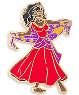Esmeralda Pin