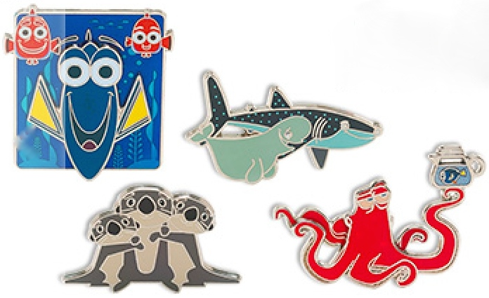 Find Dory Pin Set