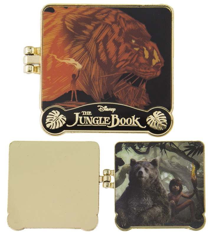 Live Action Jungle Book Disney Pin