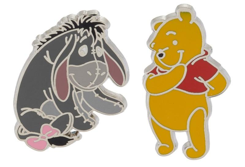 Pooh & Eeyore Pin Set