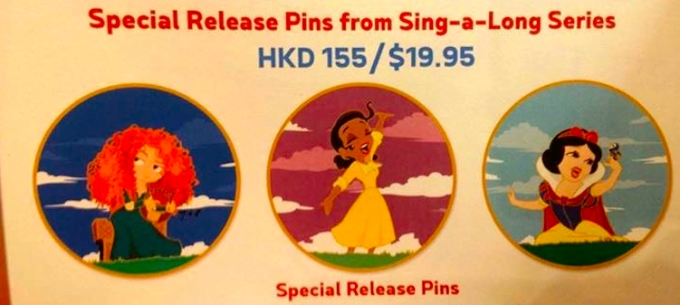 Special Release Sing-a-Long Pins