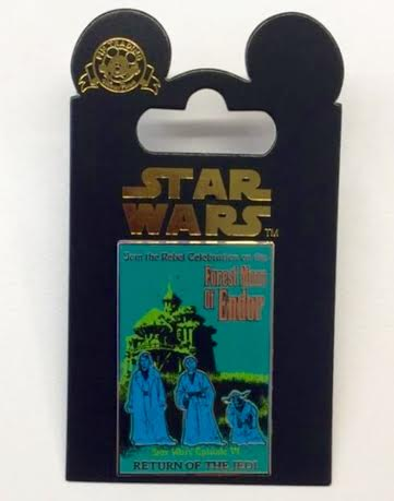 The Haunted Mansion Star Wars Endor Pin