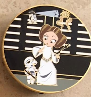 The Leia Story 1 ACME Disney Pin