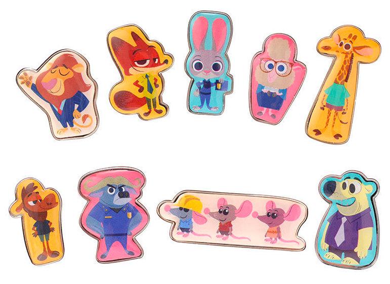 Zootopia Disney Pins Tokyo