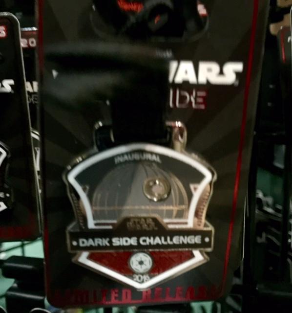 runDisney Dark Side Challenge 2016 Pin