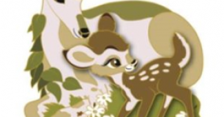 Bambi Mother's Day Pin - DSSH