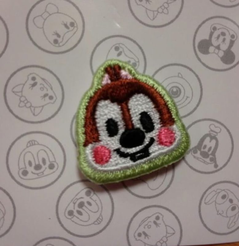 Chip Embroidered Pin