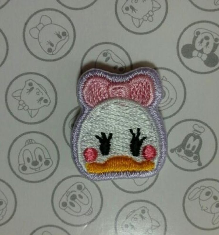 Daisy Duck Embroidered Pin