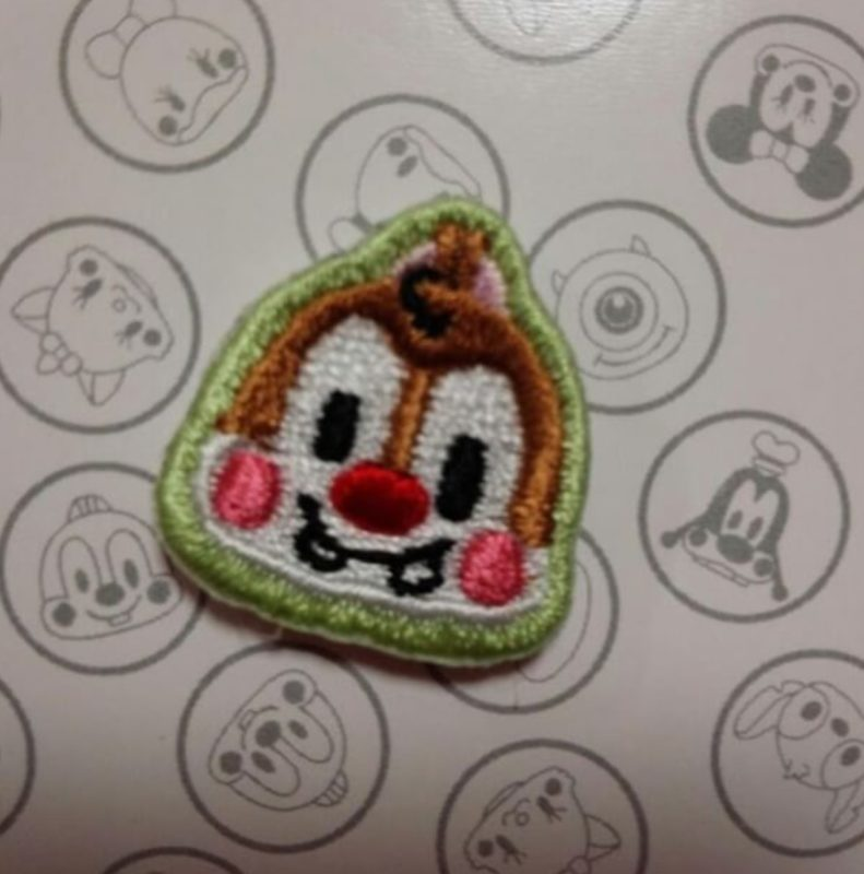 Dale Embroidered Pin