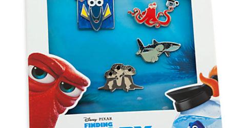Disney Store Finding Dory Pin Set