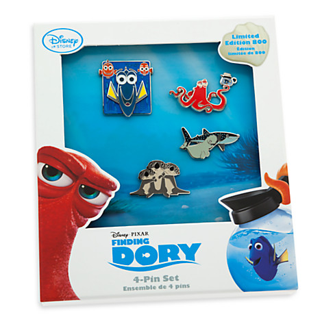 Disney Store Finding Dory Pin Set