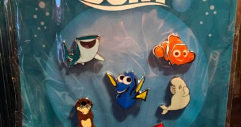 Finding Dory Disney Pin Set