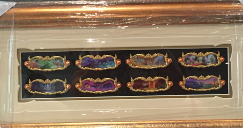 Framed Pin Set