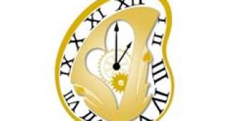 Gold Mad Hatter Clock Pin - DSSH