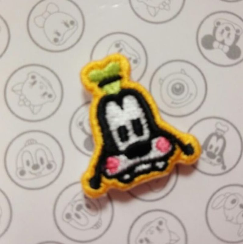 Goofy Embroidered Pin