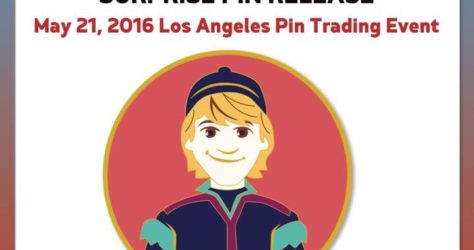 Kristoff Golden Magic Pin