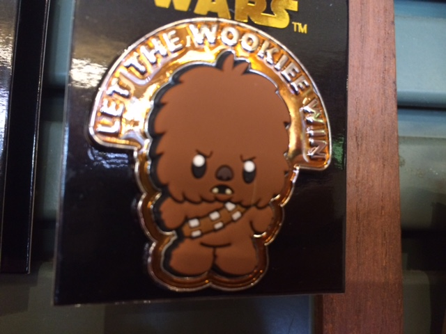 Let the Wookiee Win Pin