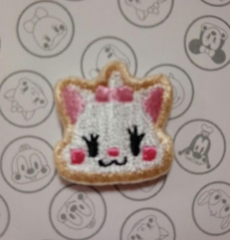 Marie Embroidered Pin