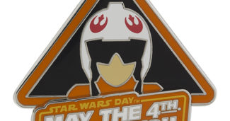 May the 4th Be With You 2016 Pin