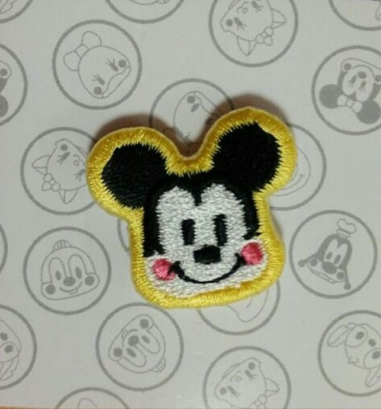 Mickey Mouse Embroidered Pin