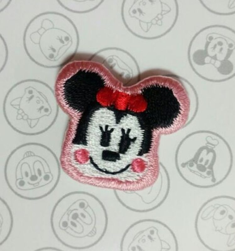 Minnie Mouse Embroidered Pin