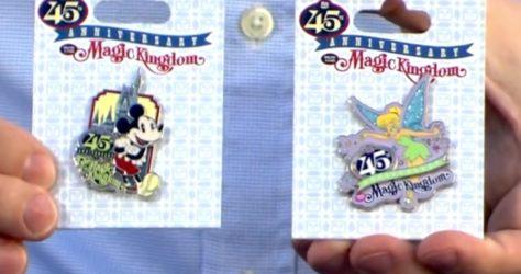 Open Edition 45th Magic Kingdom Pins