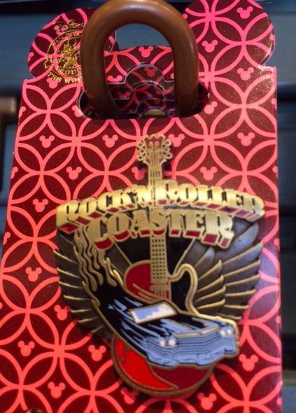 Rock'n Roller Coaster Disney Pin 2016