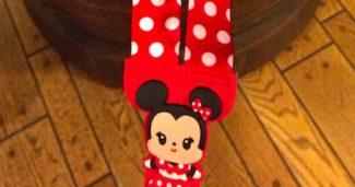 Minnie Cutie Reversible Lanyard