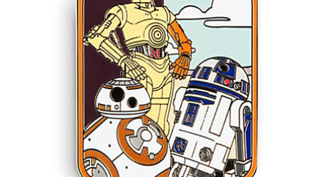 Star Wars The Force Awakens Droid Pin