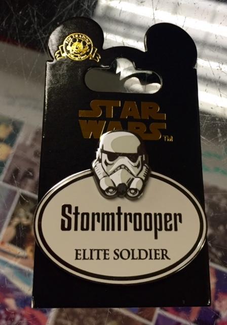Stormtrooper Cast Member Disney Pin
