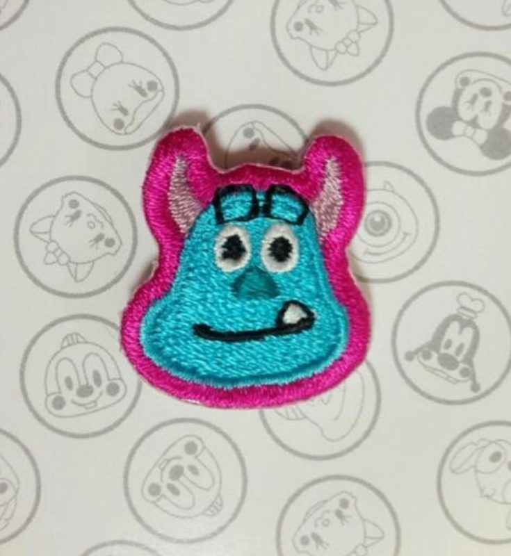 Sulley Embroidered Pin