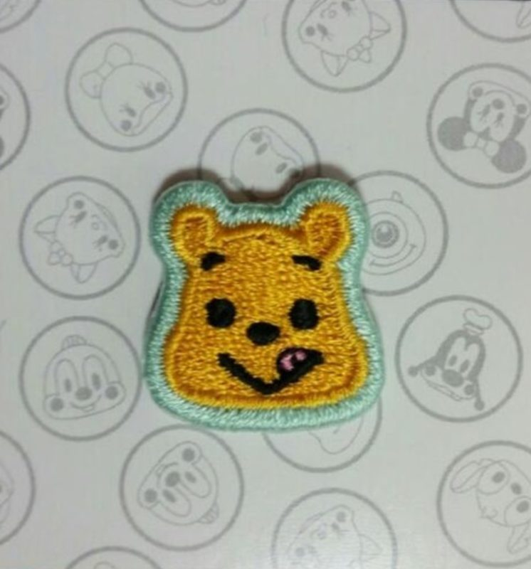 Winnie the Pooh Embroidered Pin