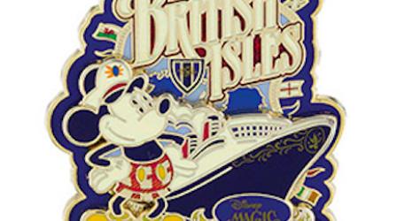 DCL British Isles 2016 Pin