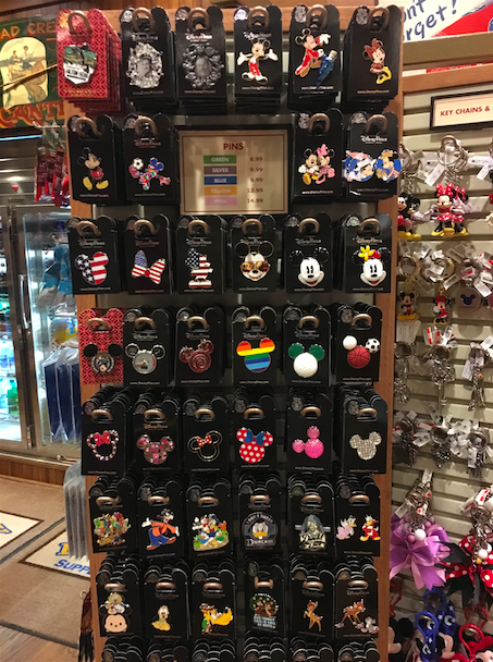 Disney Hilton Head Pin Rack